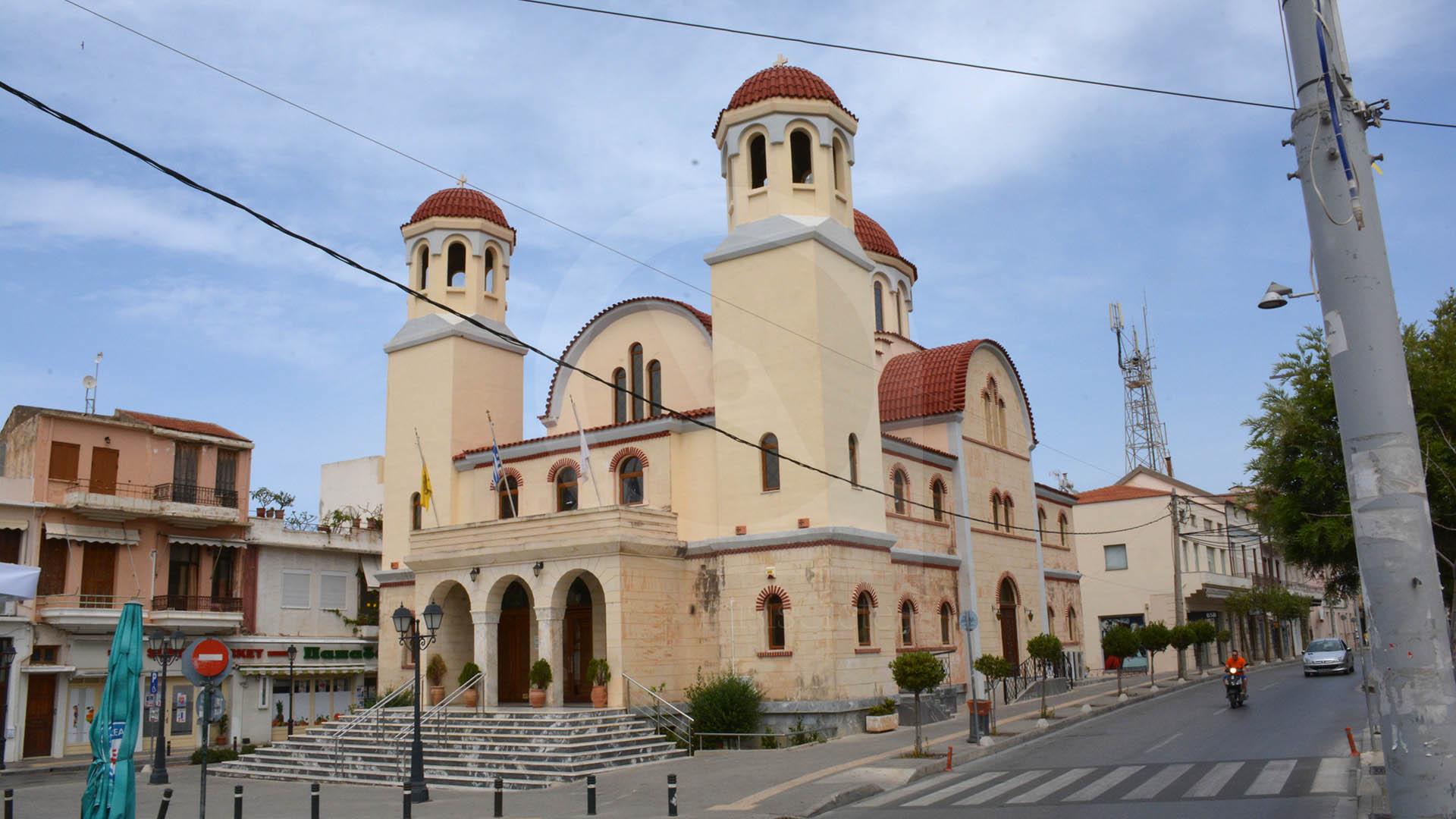 Ιερός ναός Τέσσερις Μάρτυρες Ρέθυμνο - thisiscrete . travel guide of Crete